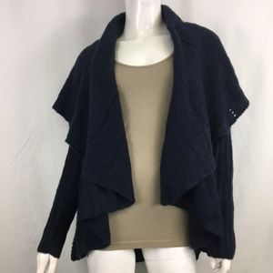 NWT Mystree Navy Blue Knit Cardigan